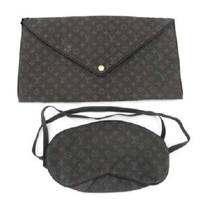 Brown Vip Mask and Clutch Set 218981